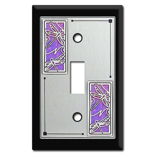 Decorative Switch Plates with Dragonflies