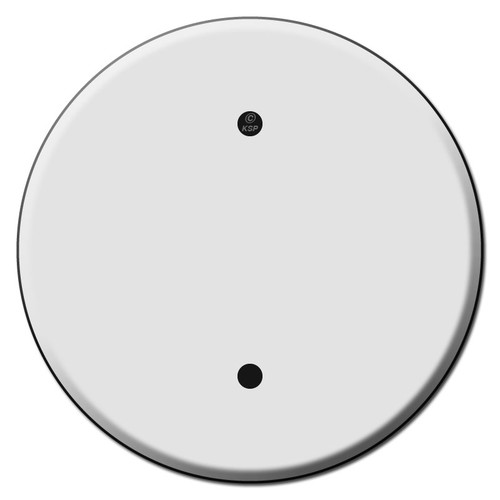 Round Ceiling Outlet Blank Switch Plate Covers for 3.25 Inch Boxes