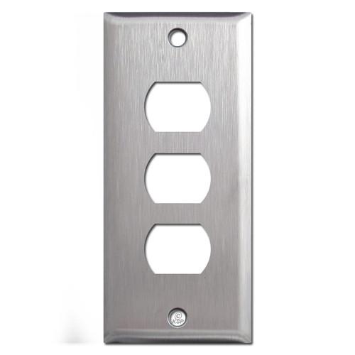 3 Despard Switch Plate - Narrow