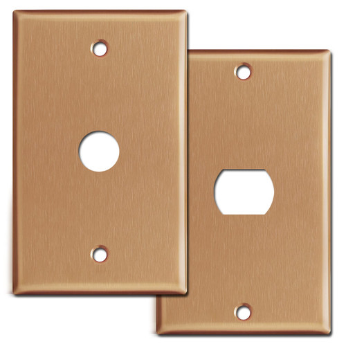 Brushed Copper Switch Plates & Outlet Covers