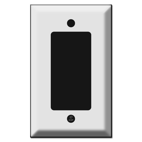 Deep Beveled Single GFCI Decora Rocker Switch Plate Covers