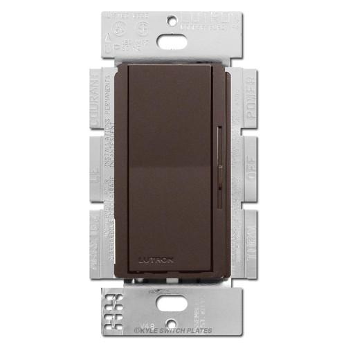 Brown Rocker Switch 1000W Preset Dimmer Lever