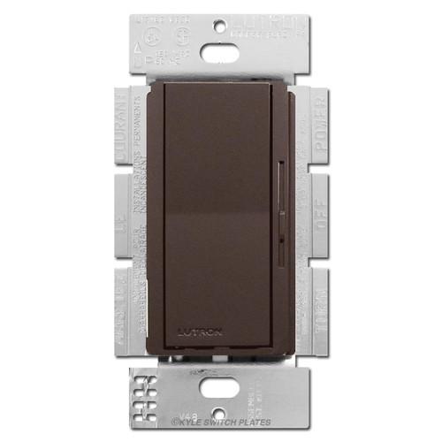 Brown 3-Way Rocker Light Switches 1000W Preset Dimmer
