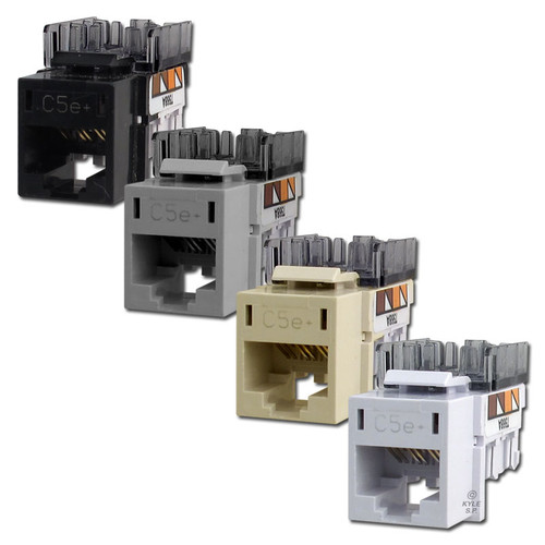 Hubbell Modular Frame Ethernet Jacks CAT5E