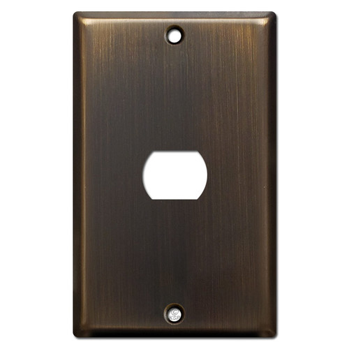 1 Despard Light Switchplate Cover - Oil Rubbed Bronze