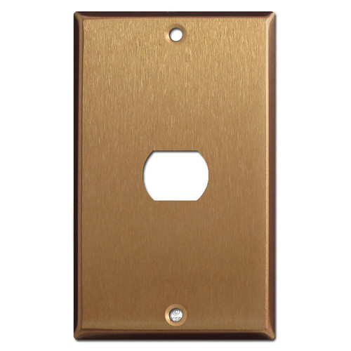 One Despard Switch Wallplate - Satin Bronze