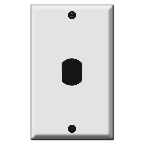 Single Vertical Despard Low Voltage Switch Plates