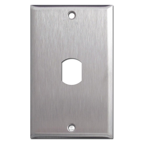 Stainless Steel Plate for 1 Vertical Despard Switch