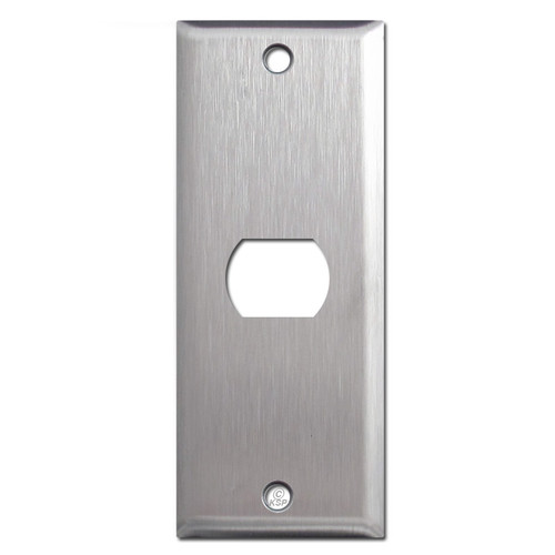 "1.75"" Narrow Despard Switch Plates in 302 Stainless Steel"