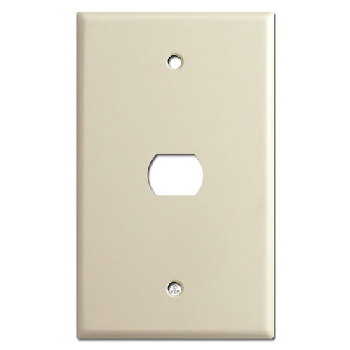 Jumbo Single Despard Interchangeable Switch Plate - Ivory