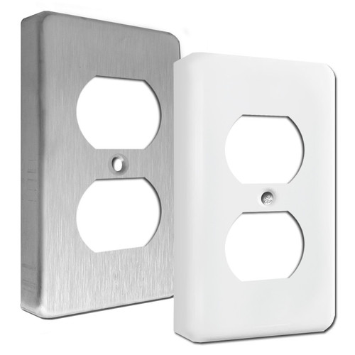 Extra Deep Duplex Receptacle Wall Cover Plates