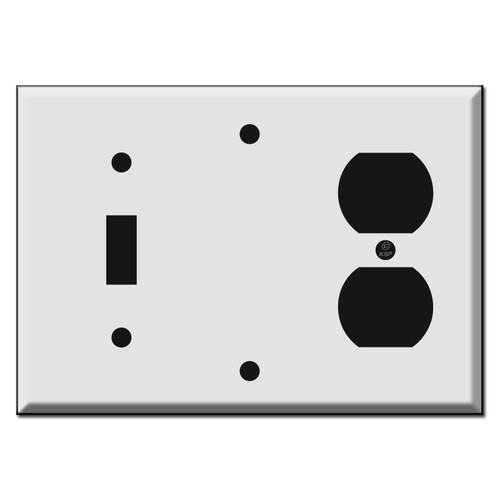 Toggle Blank Outlet Combo Switch Plate Covers