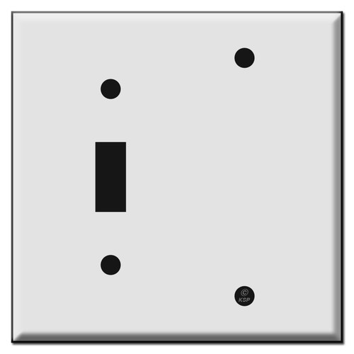 1 Toggle 1 Blank Wall Plate