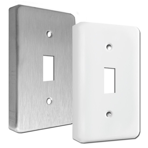 Extra Deep Raised Single Toggle Light Switch Plates