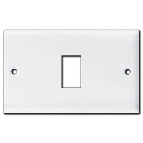 1 Vintage Type GE Old Style Low Voltage Switch Wall Plates - White