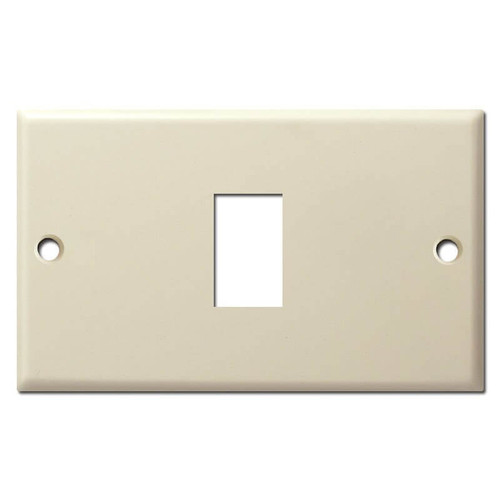 Replacement 1 GE Old Type Low Voltage Switch Plate - Ivory