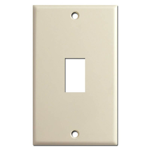 GE Original Vertical Old Low-Voltage Switch Plates - Ivory
