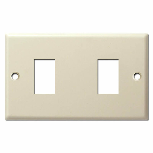 Old Type 2 Switch GE Low Voltage Switch Plate - Ivory
