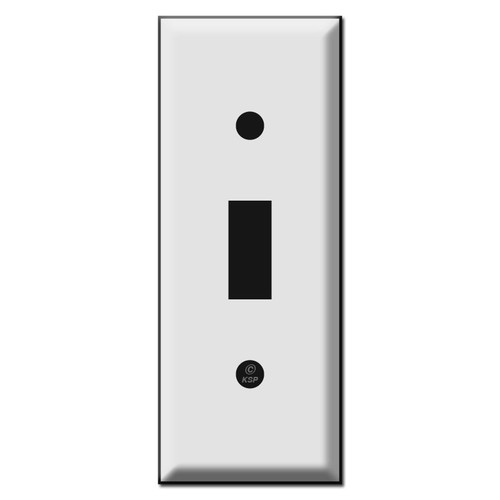 """1.75"""" Skinny Switch Plates for Toggle"""