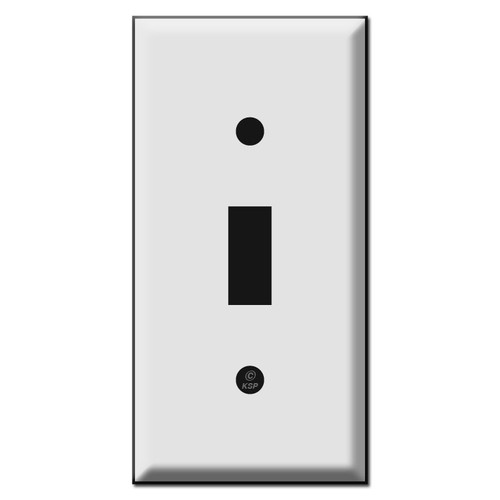 "2.25"" Narrow Toggle Switch Plates"