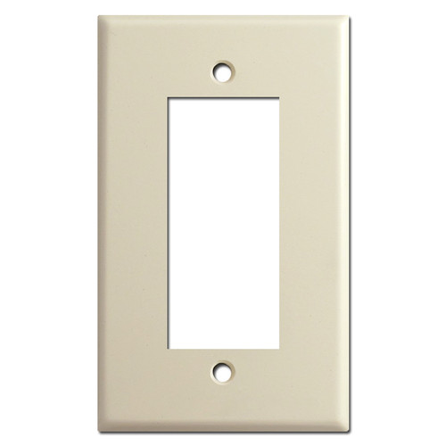 Old Style Vintage Leviton Centura Duplex Outlet Cover Plates - Ivory