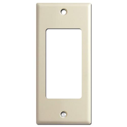 "Narrow 2"" GFI Decora Rocker Light Switchplate Covers - Ivory"