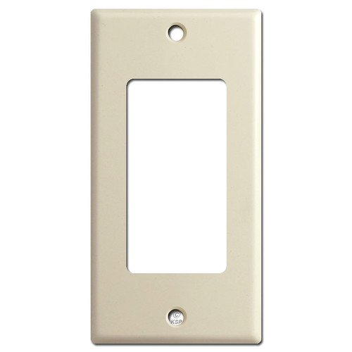 "2.25"" Inch Narrow Decora Rocker Light Switch Cover Plates - Ivory"