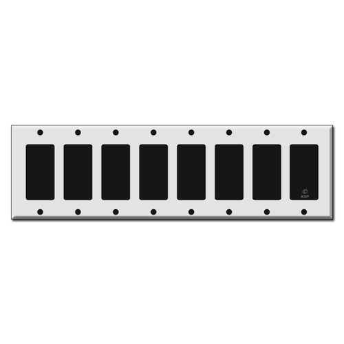 8 Rocker Switch Plates