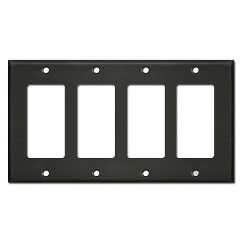 4 GFI Decora Light Switch Cover - Dark Bronze