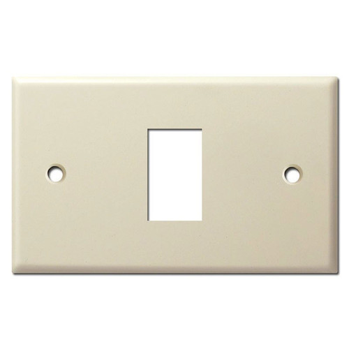 New Style Replacement 1 Vintage GE Low Voltage Switch Plate - Ivory
