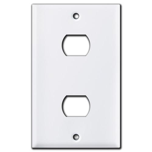 2 Despard Switch Plate - White