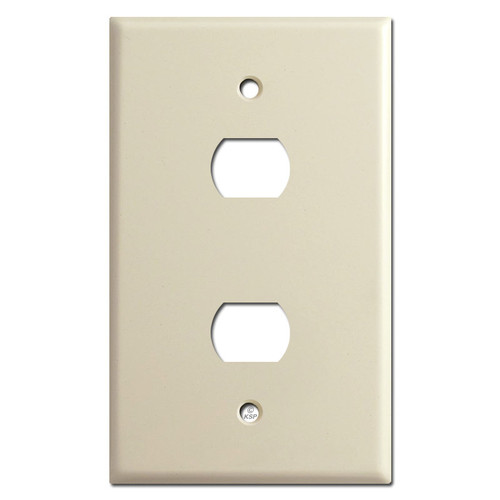 Jumbo 2 Despard Switch Wall Plate Covers - Ivory