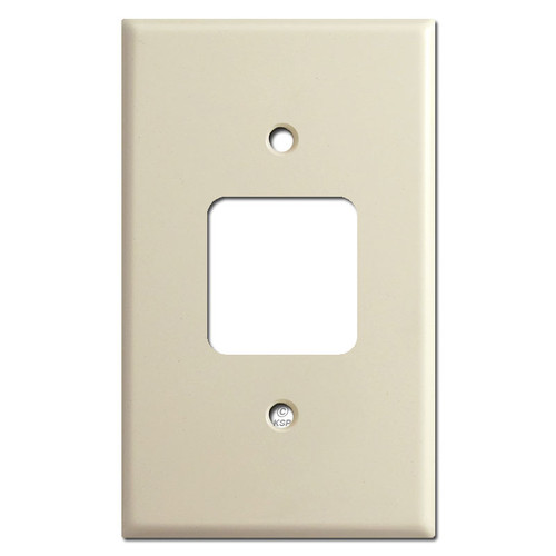 Older Type Sierra Electric Square Outlet Cover Switch Plates - Ivory