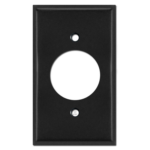 20A Outlet Switch Plates - Black