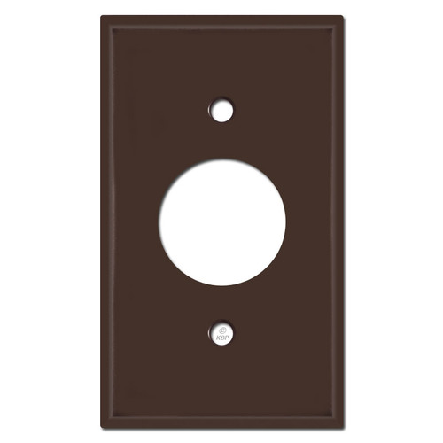 Single Electrical Plug Covers - Brown