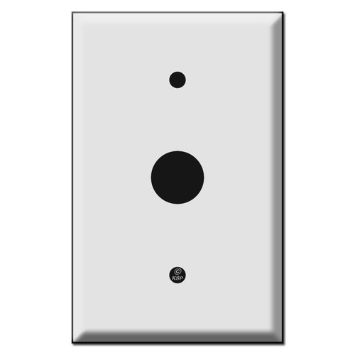Jumbo Wall Switch Plates with 7/8'' Opening