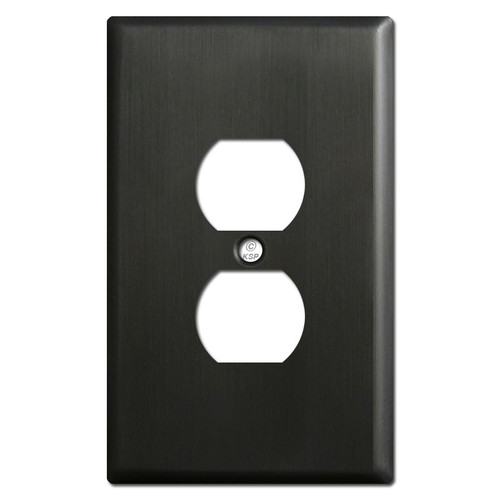 Extra Large Outlet Plate - Dark Bronze