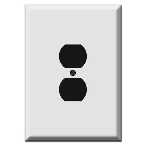 Extra Large Jumbo Outlet Cover Plates