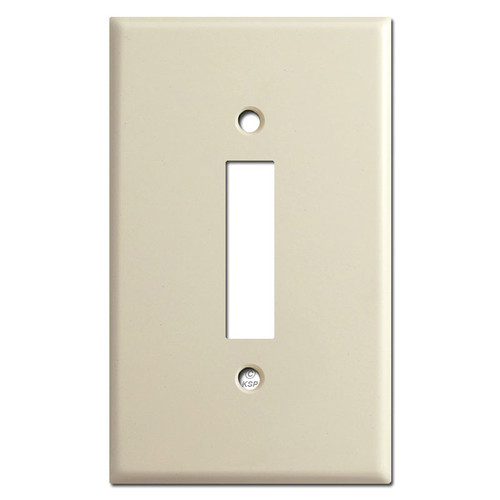 Older Style Long Toggle Double Pole Double Throw Cover - Ivory