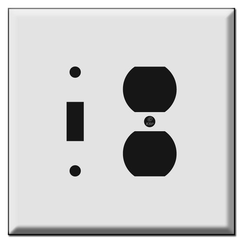 Oversized Toggle Outlet Switch Plate Covers