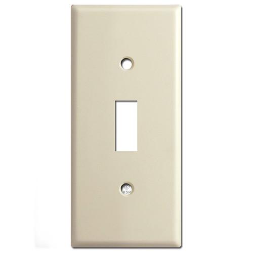 "2"" Slim Toggle Switch Plates - Ivory"