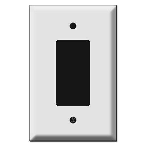 Oversized Single GFCI Decora Rocker Switch Plate Covers