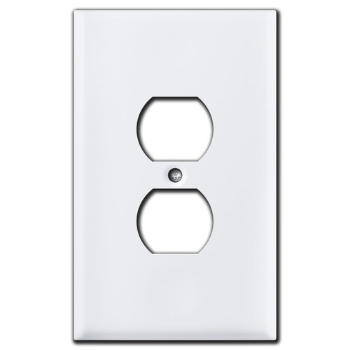 Oversized Switch Plate for Horizontal Toggles
