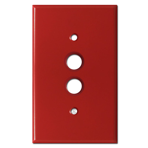 1 Push Button Switch Plate Cover - Red