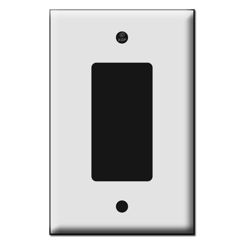 Quality One Decora Plastic Mid Size Wall Switch Plates