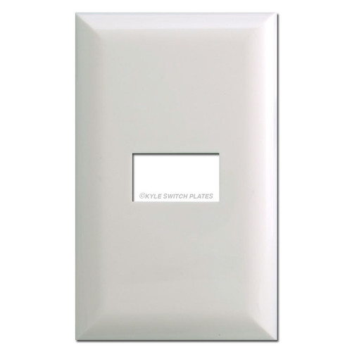 Touch-Plate 5001 Low Voltage Switch Plate Covers - White