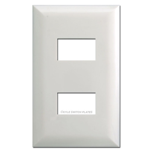 Touch Plate 5002 Low Volt Light Switchplates - White