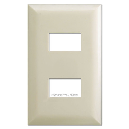 Touchplate 5002 Low Voltage Switch Plate Covers - Almond