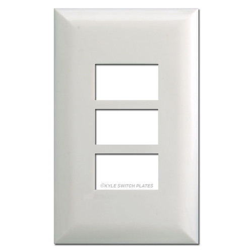 Touchplate 5003 Low Voltage Wall Plates - White