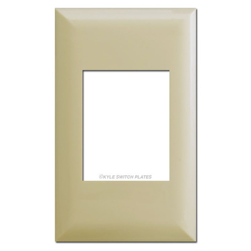 Touch-Plate Classic Series 1 Gang Cover Plates - Ivory